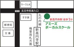 新高円寺地図